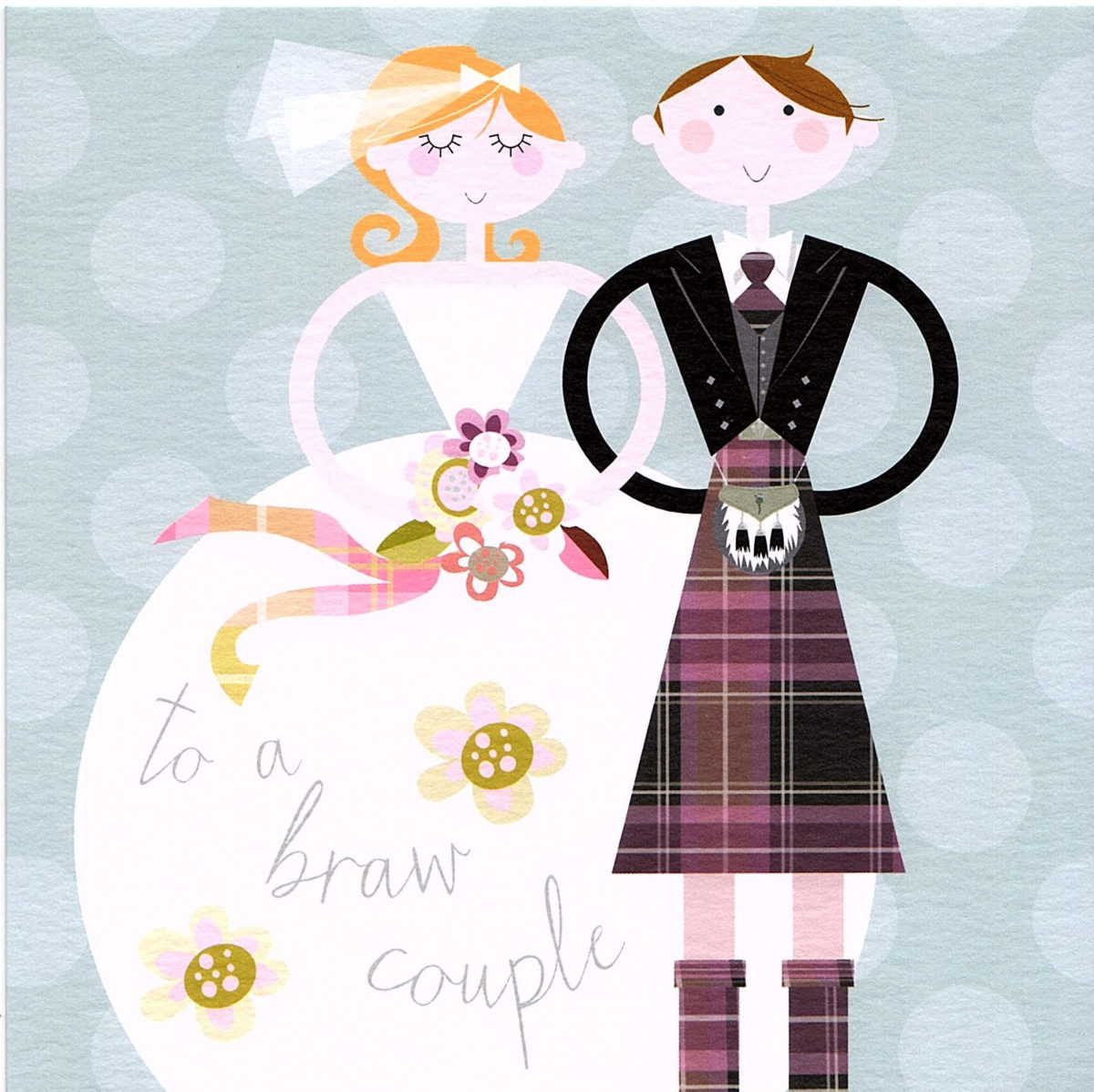 Braw Bride & Groom