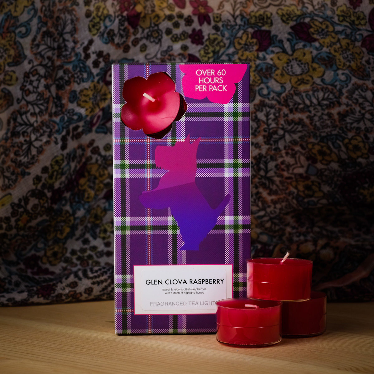 Glen Clova Raspberry Tealights