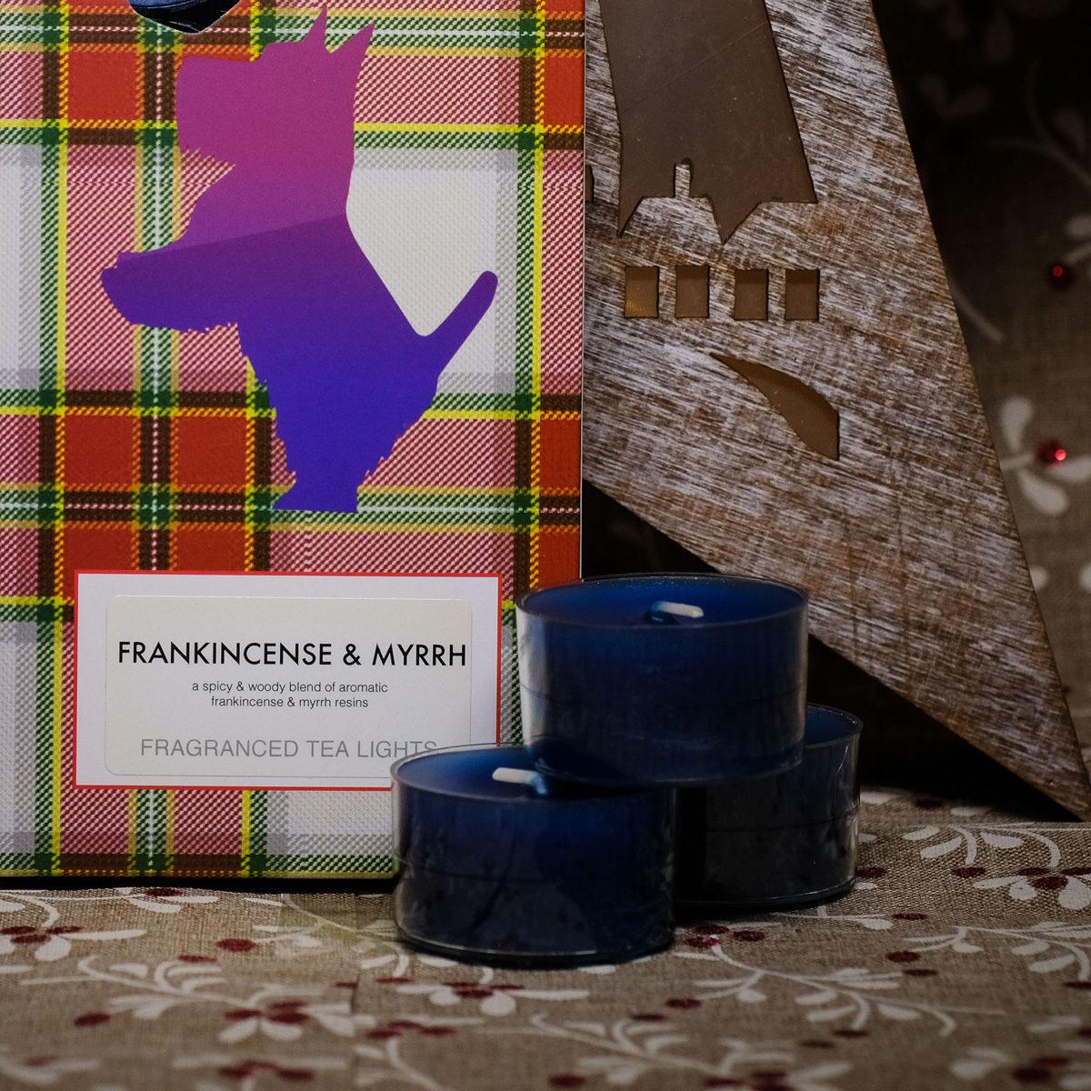 Frankincense & Myrrh Tealights