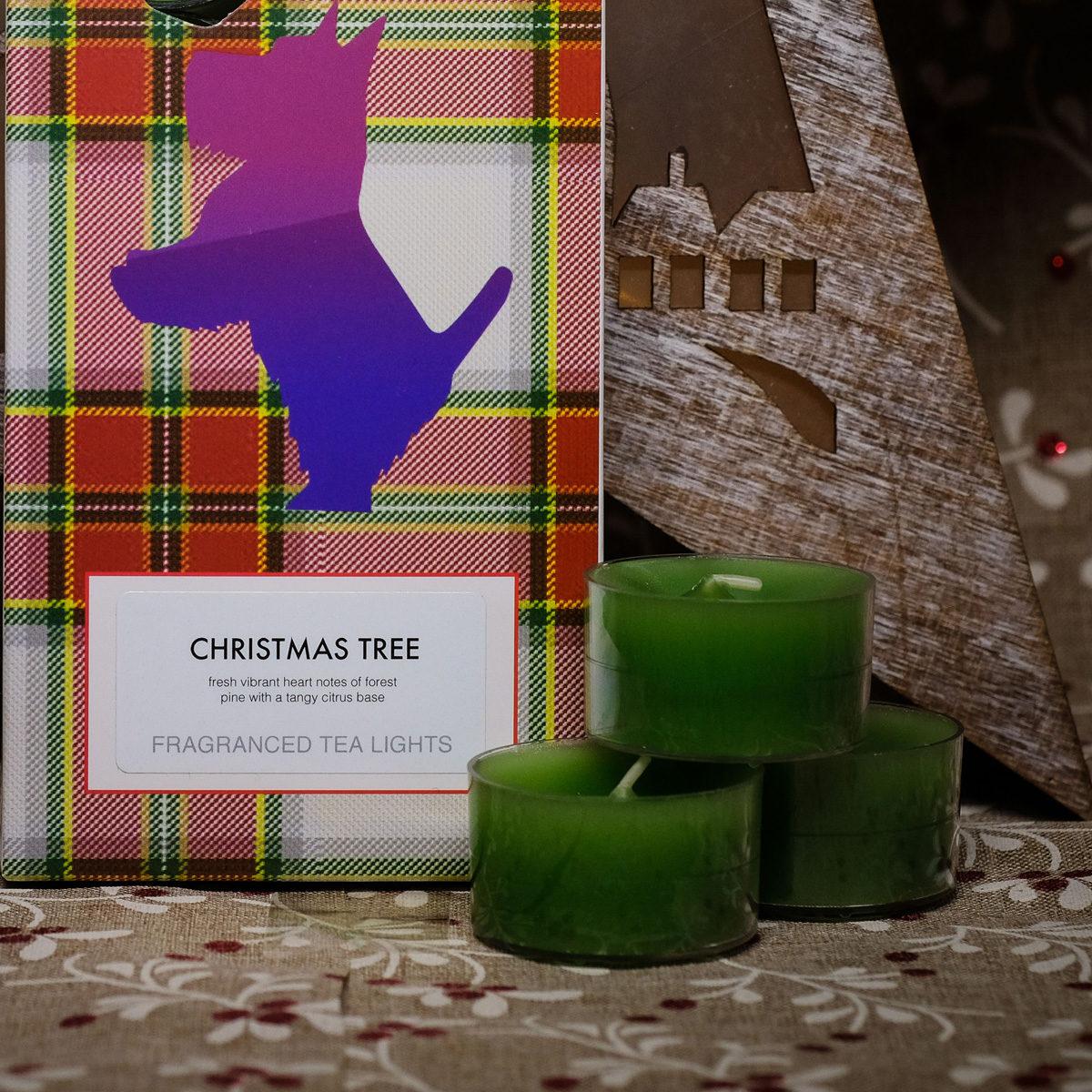 Christmas Tree Tealights