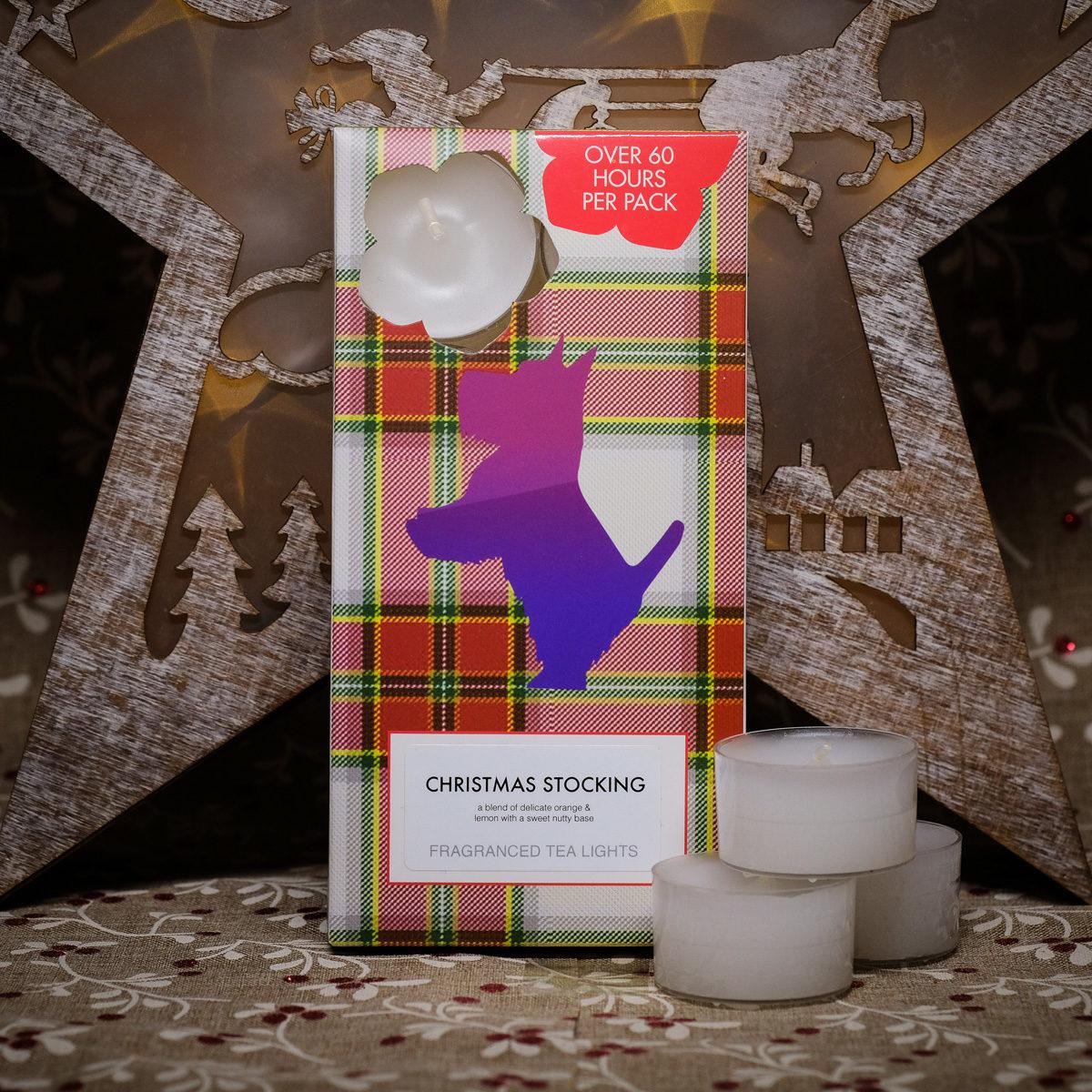 Christmas Stocking Tealights