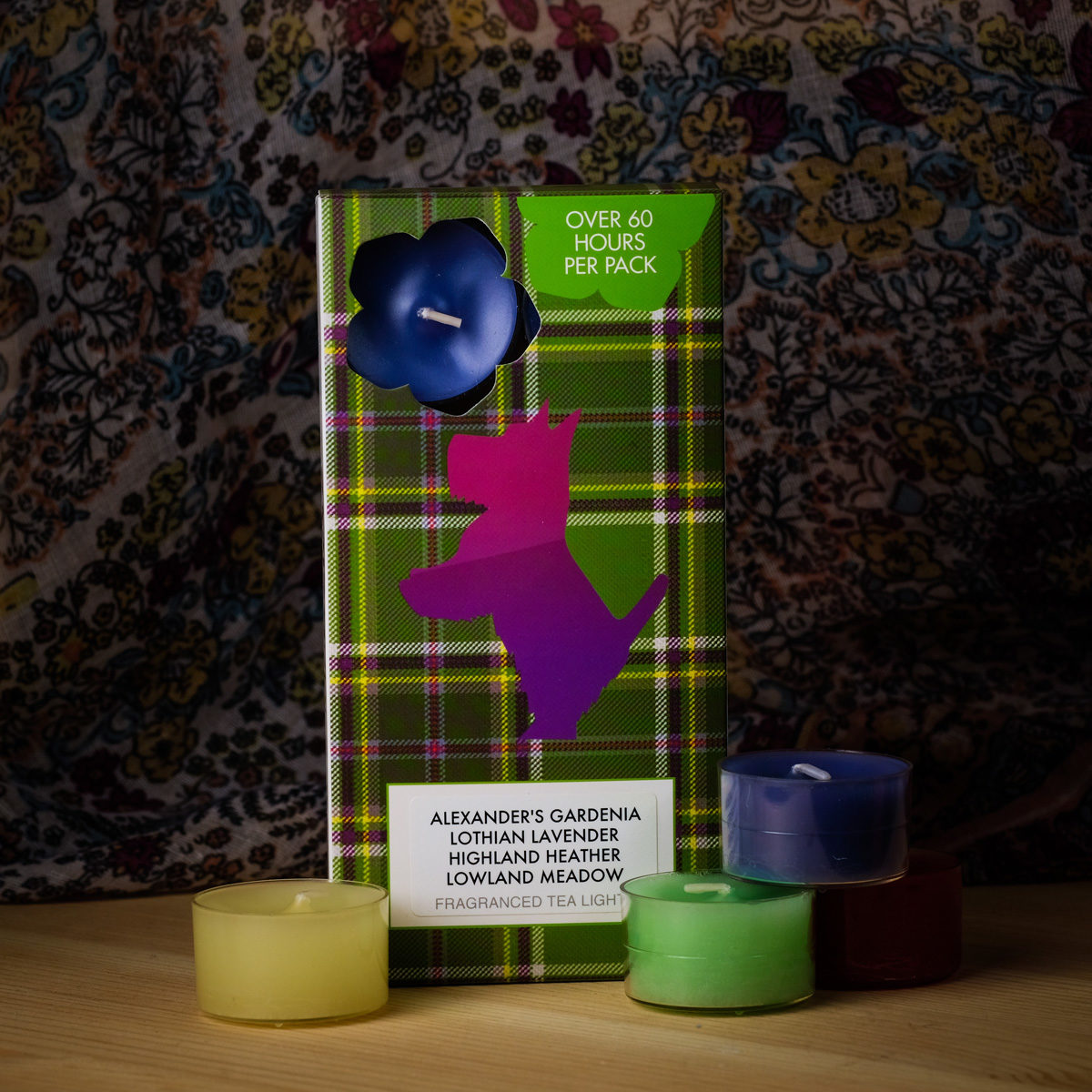 Flowers of Scotland Mixed Tealights