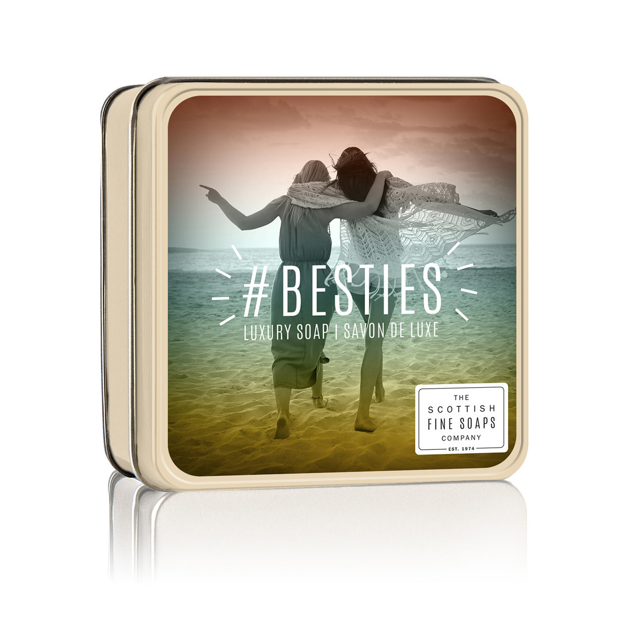 #Besties Soap In A Tin - Hashtags Collection
