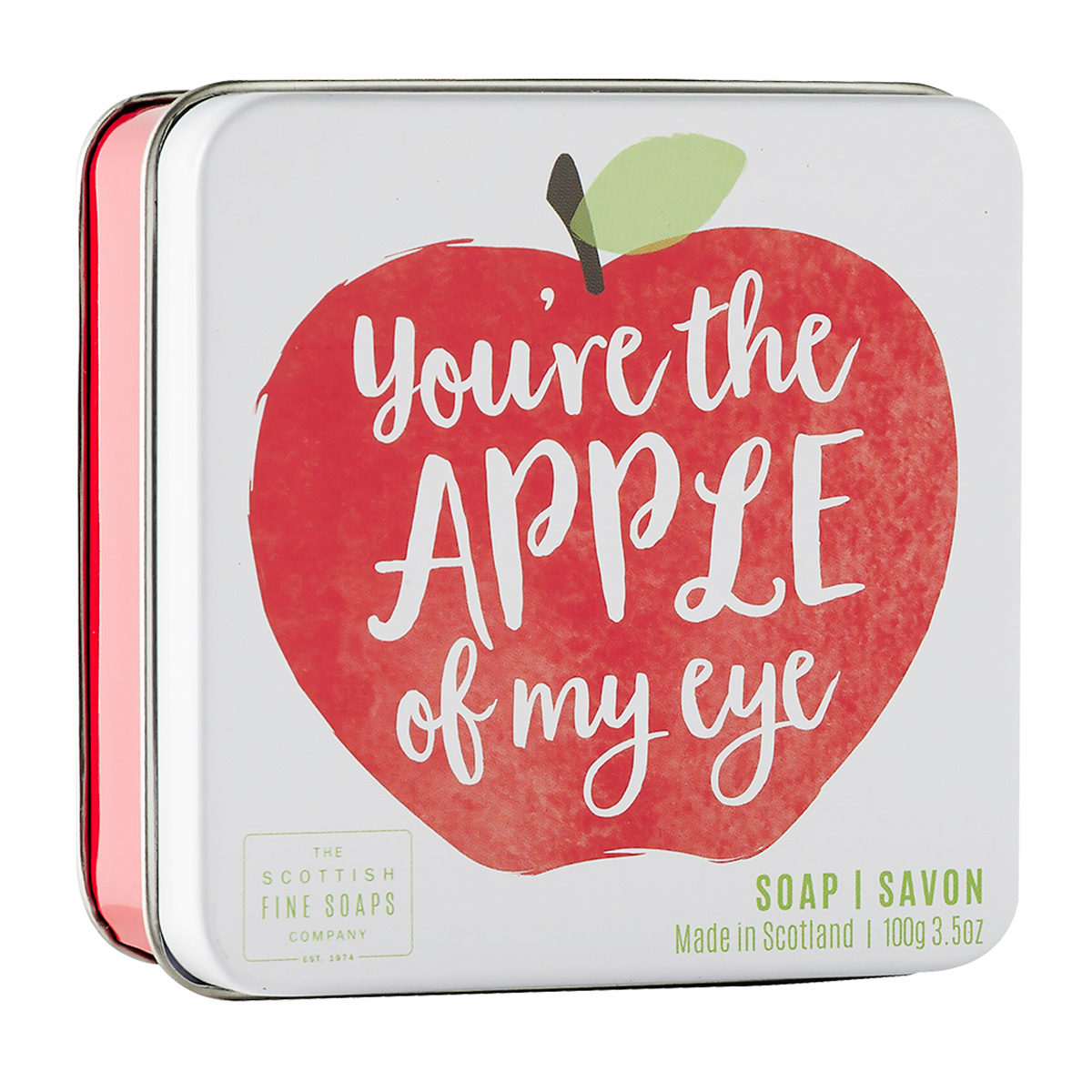 You're The Apple Of My Eye Soap In A Tin – Fruits Collection