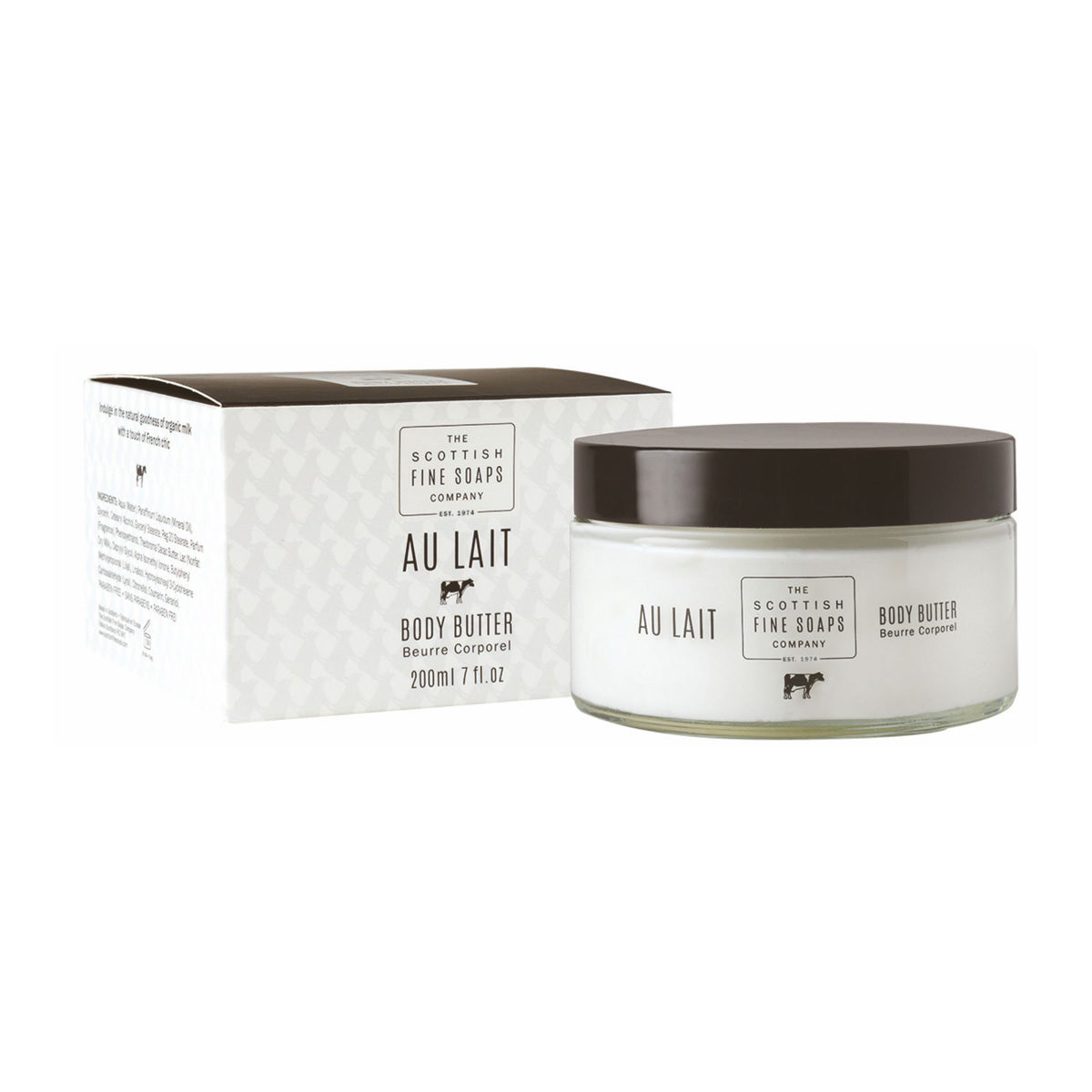 Au Lait Body Butter Jar