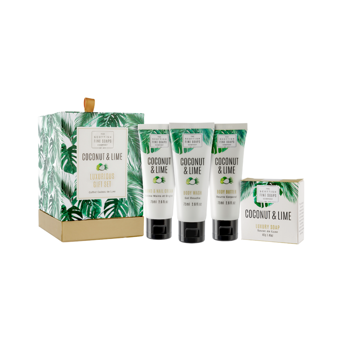 Coconut & Lime Luxurious Gift Set