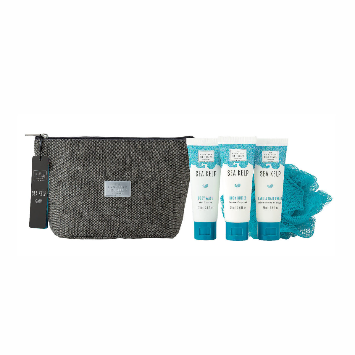 Sea Kelp Toiletry Bag Gift Set