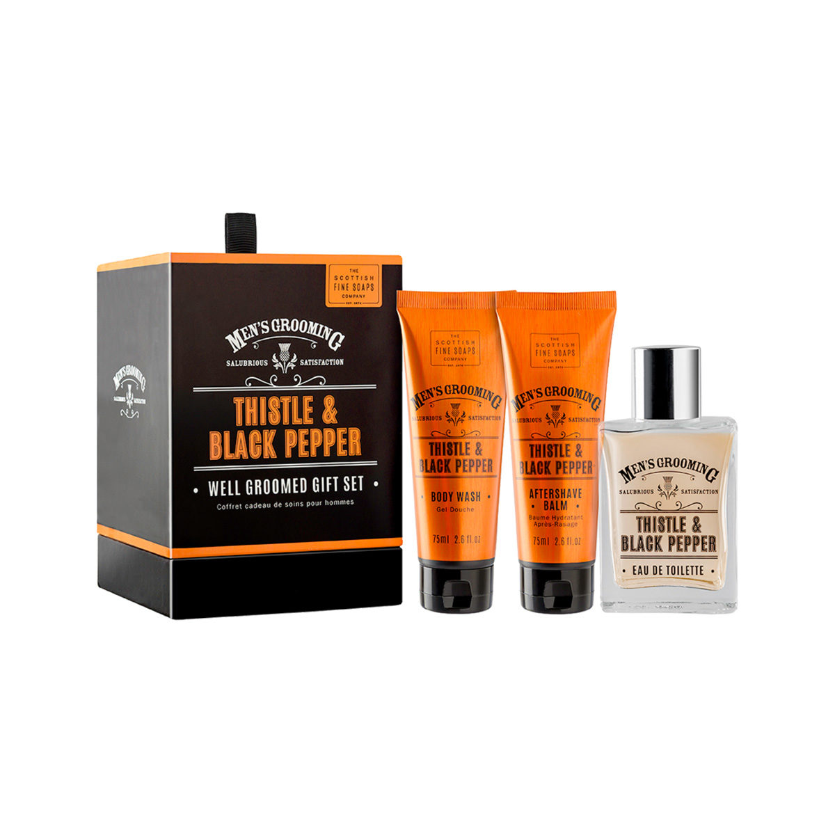 Thistle & Black Pepper Well Groomed Gift Set
