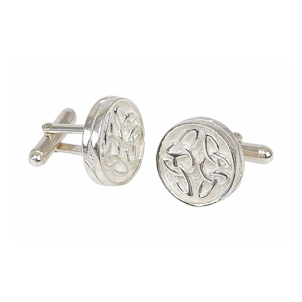 Celtic Silver Cufflinks