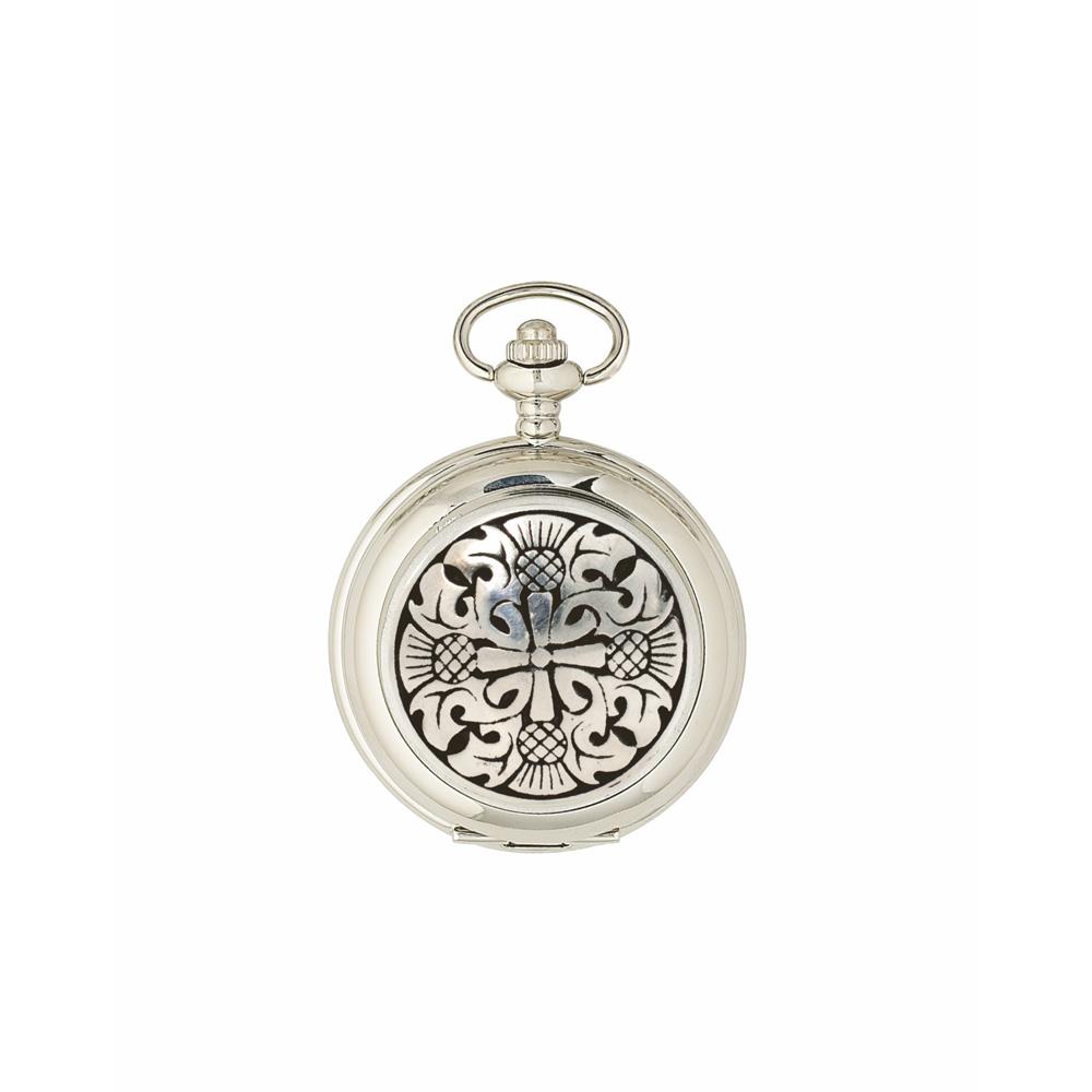 Four Thistle Quartz Pocket Watch