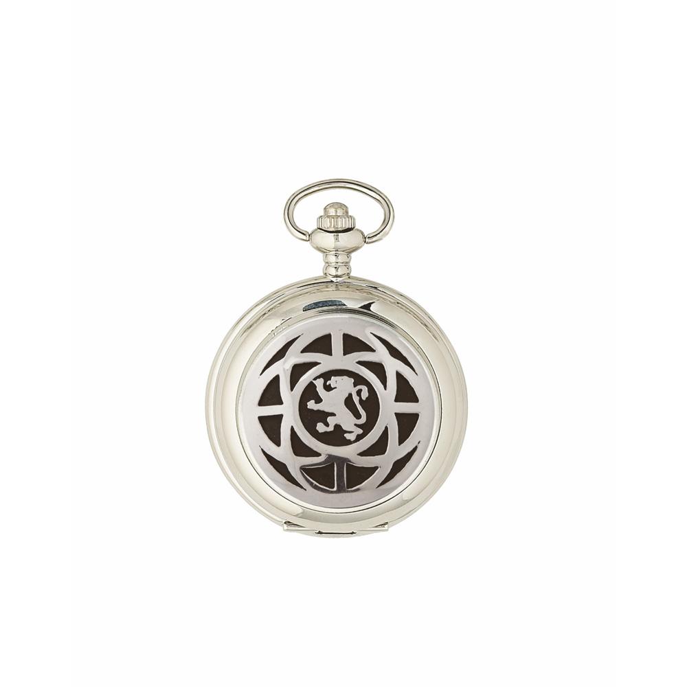 Saltire & Lion Rampant Quartz Pocket Watch