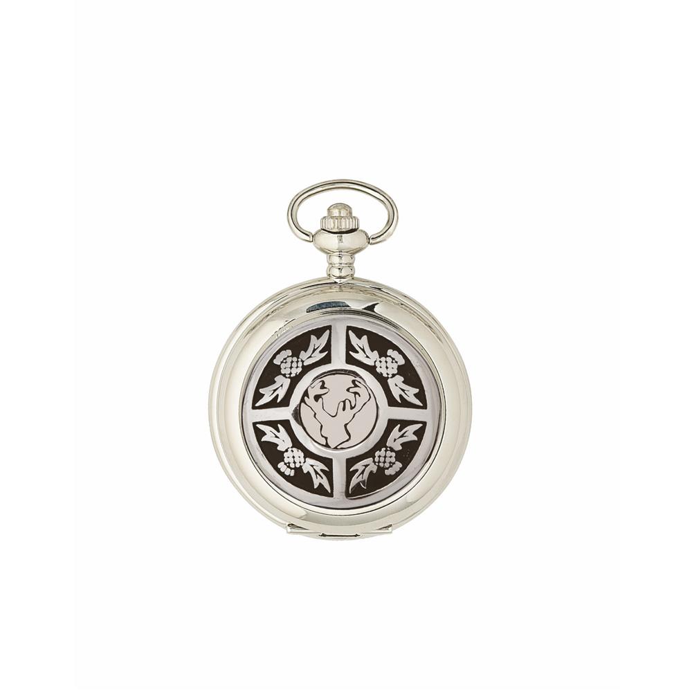 Thistle & Stag Quartz Pocket Watch