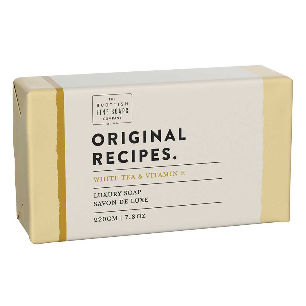 White Tea & Vitamin E Luxury Soap
