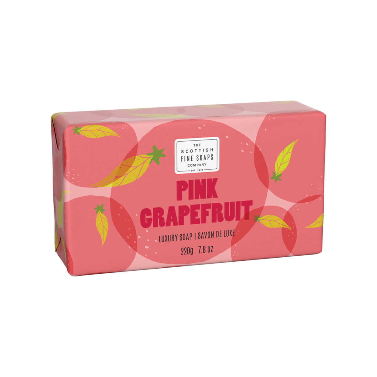 Pink Grapefruit Luxury Wrapped Soap – Citrus Collection
