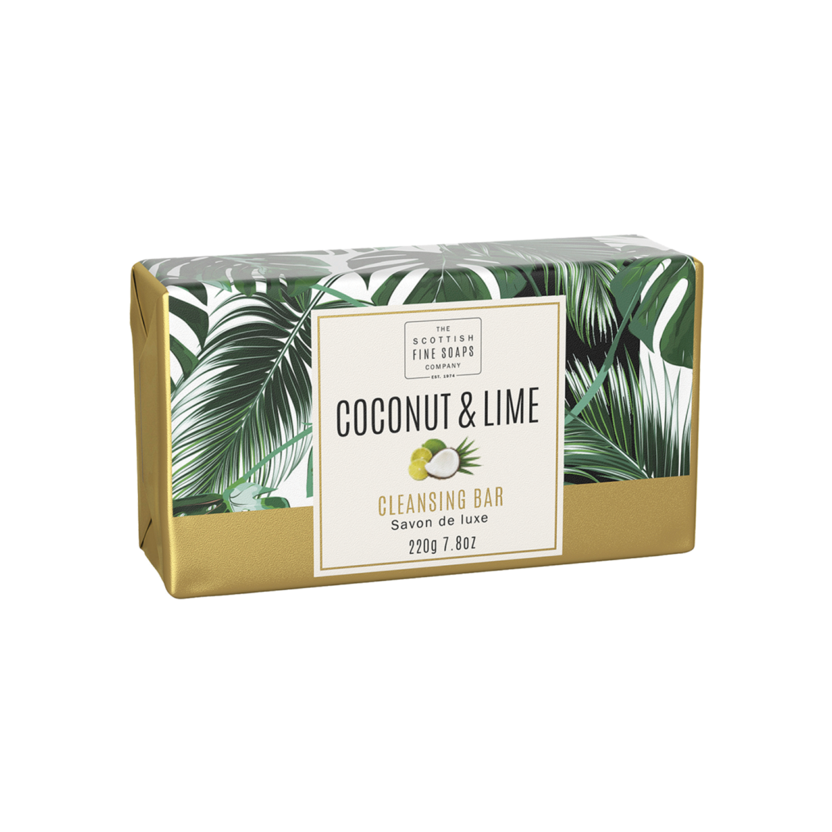 Coconut & Lime Cleansing Bar