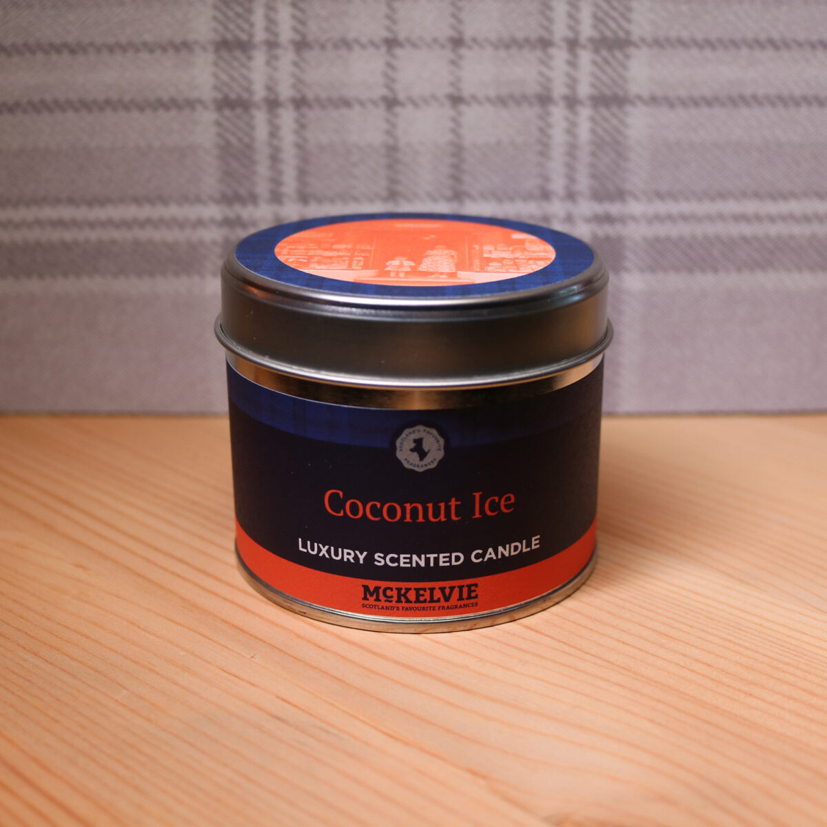 Coconut Ice Scented Candle Tin