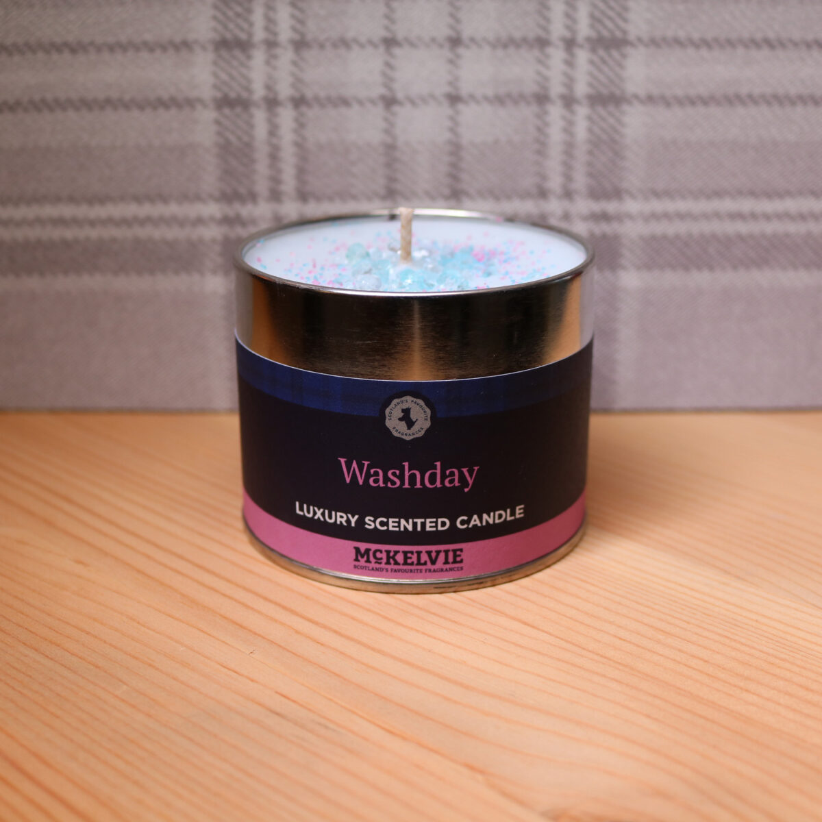 Wash Day Scented Candle Tin