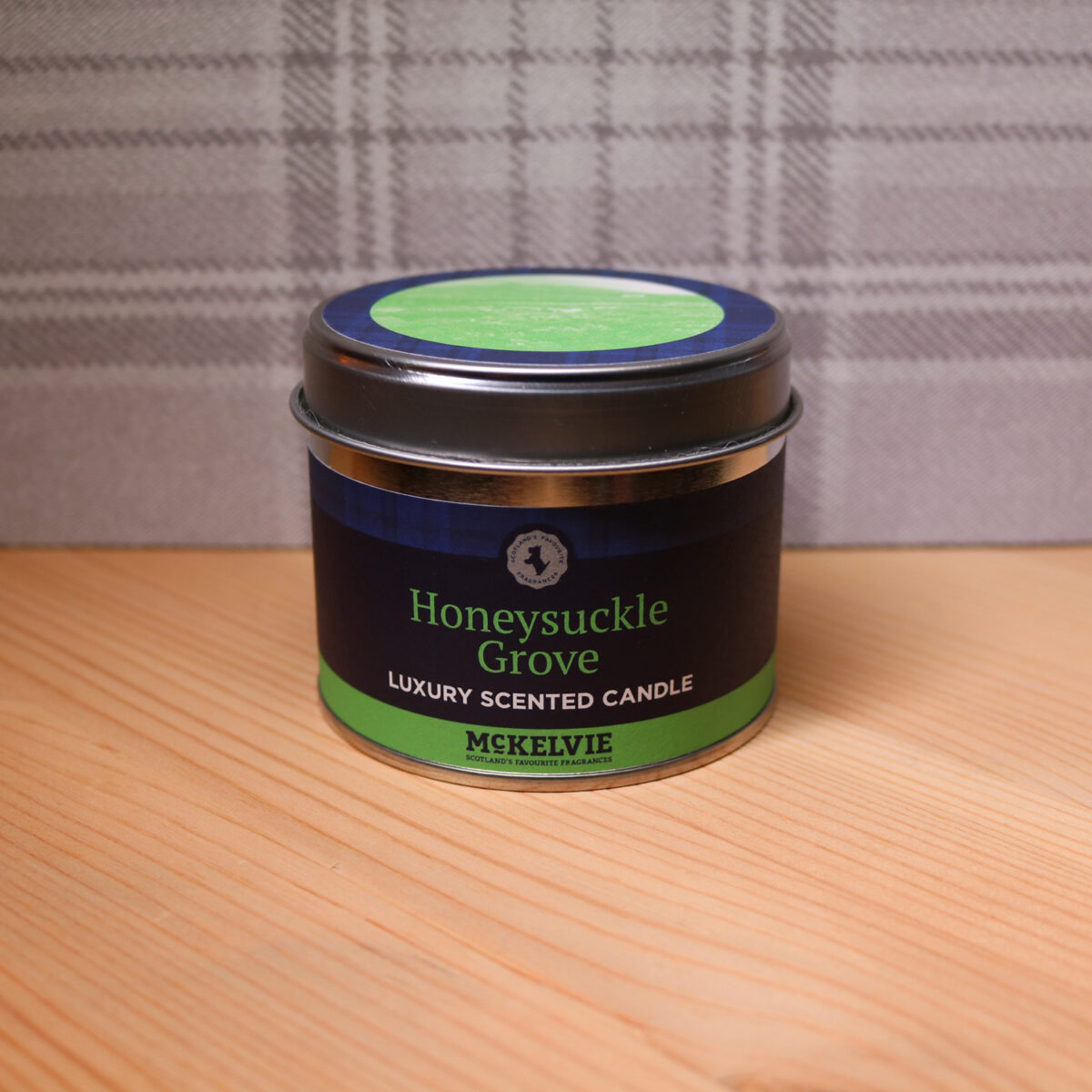 Honeysuckle Grove Scented Candle Tin