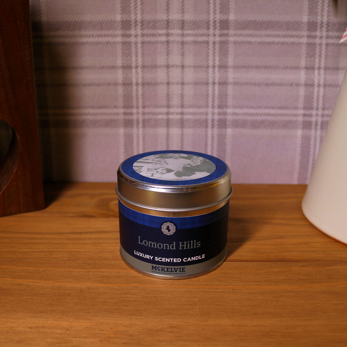 Lomond Hills Scented Candle Tin