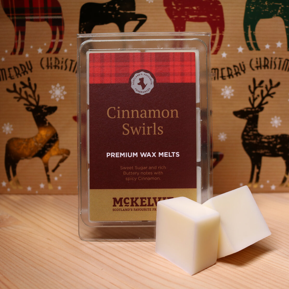 Cinnamon Swirls Wax Melts