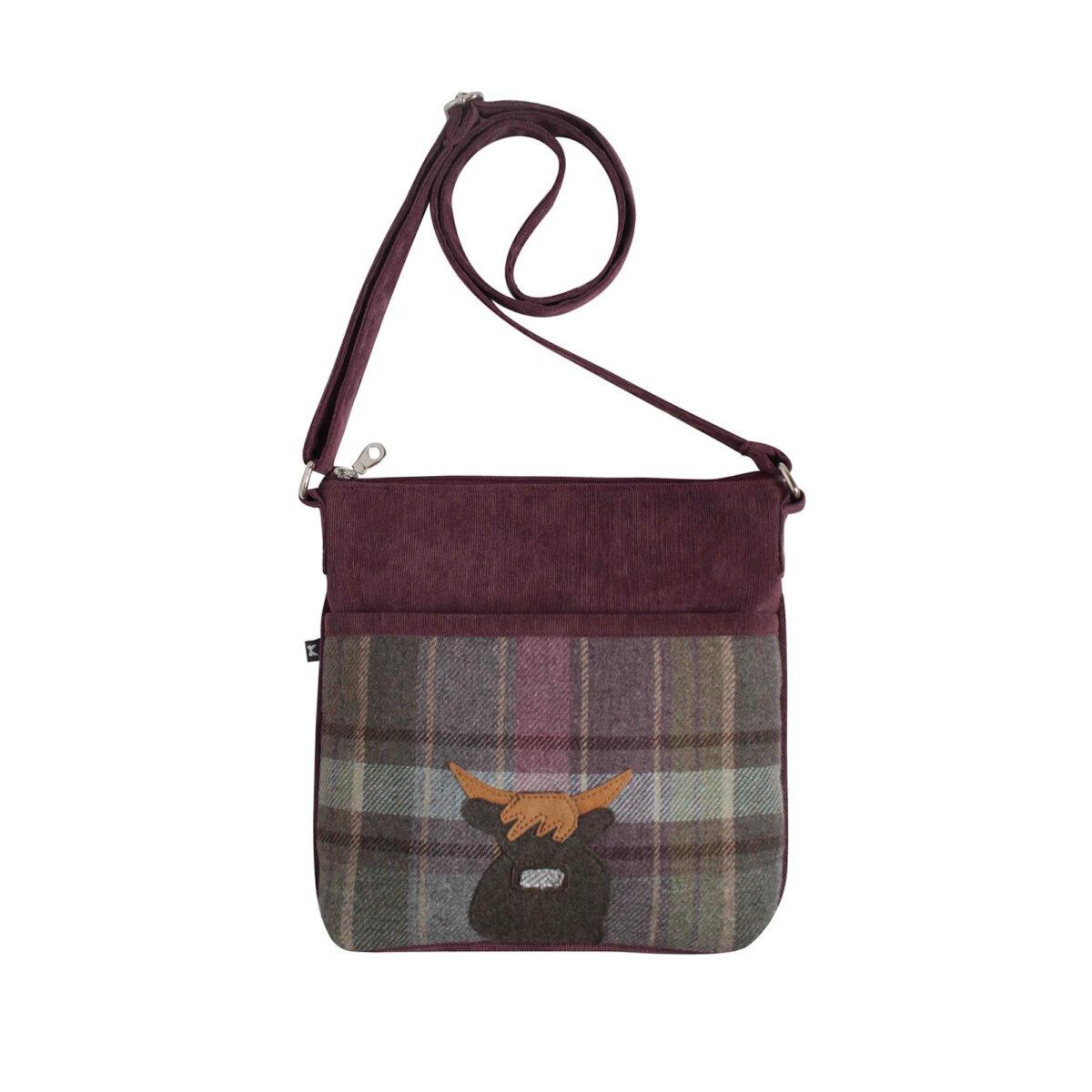 Heather Highland Friends Tweed Amelia Bag