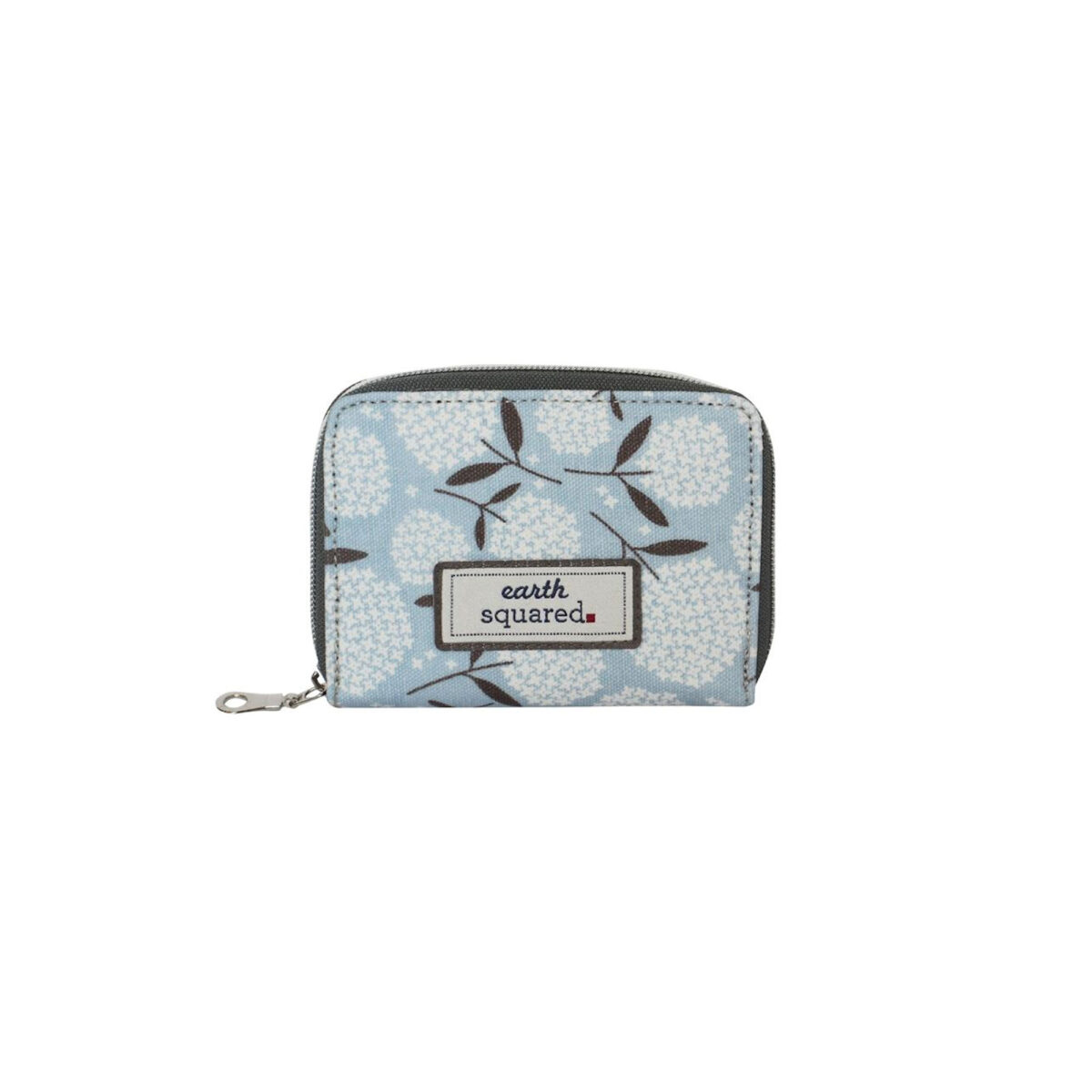 Big Bloom Oil Cloth Wallet