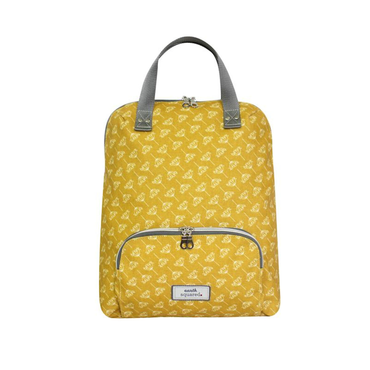 Dandelion Mustard Oil Cloth Backpack
