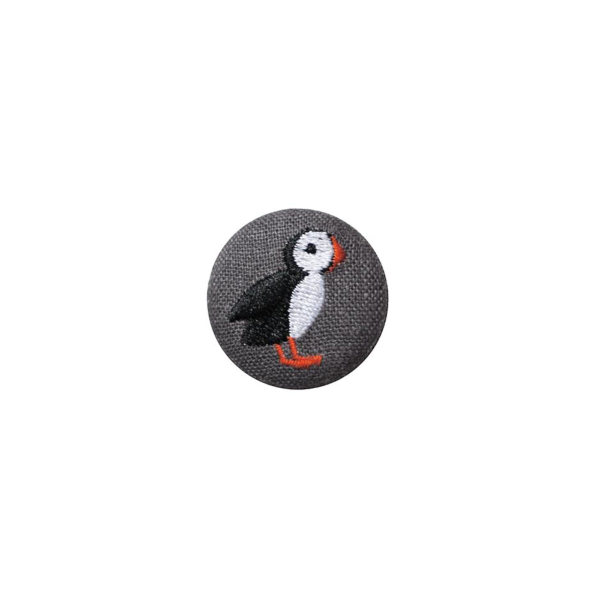 Grey Puffin Badge
