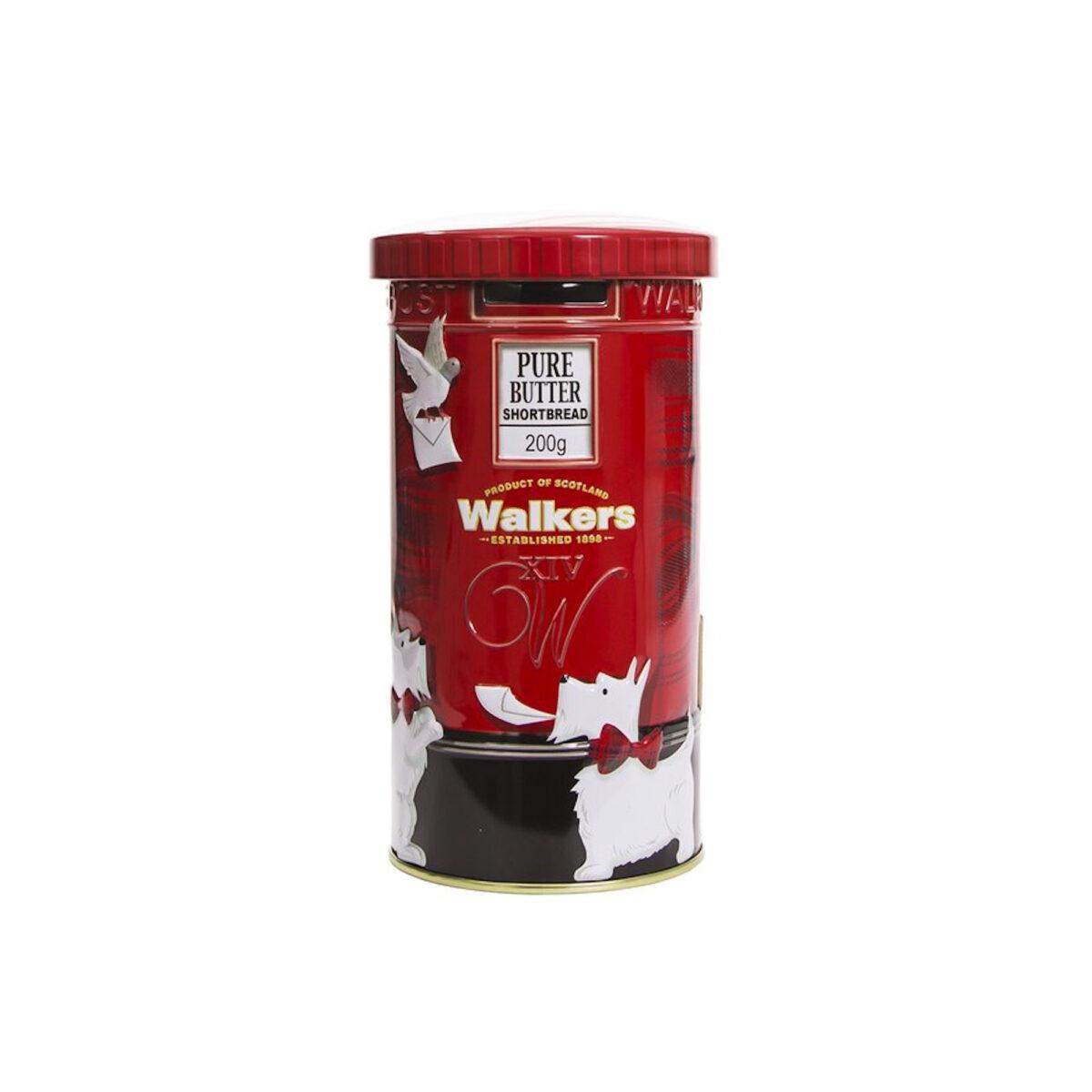 Walkers Shortbread Post Box Keepsake Tin