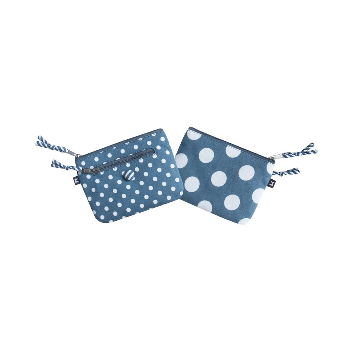 Blue Spotty Emily Purse