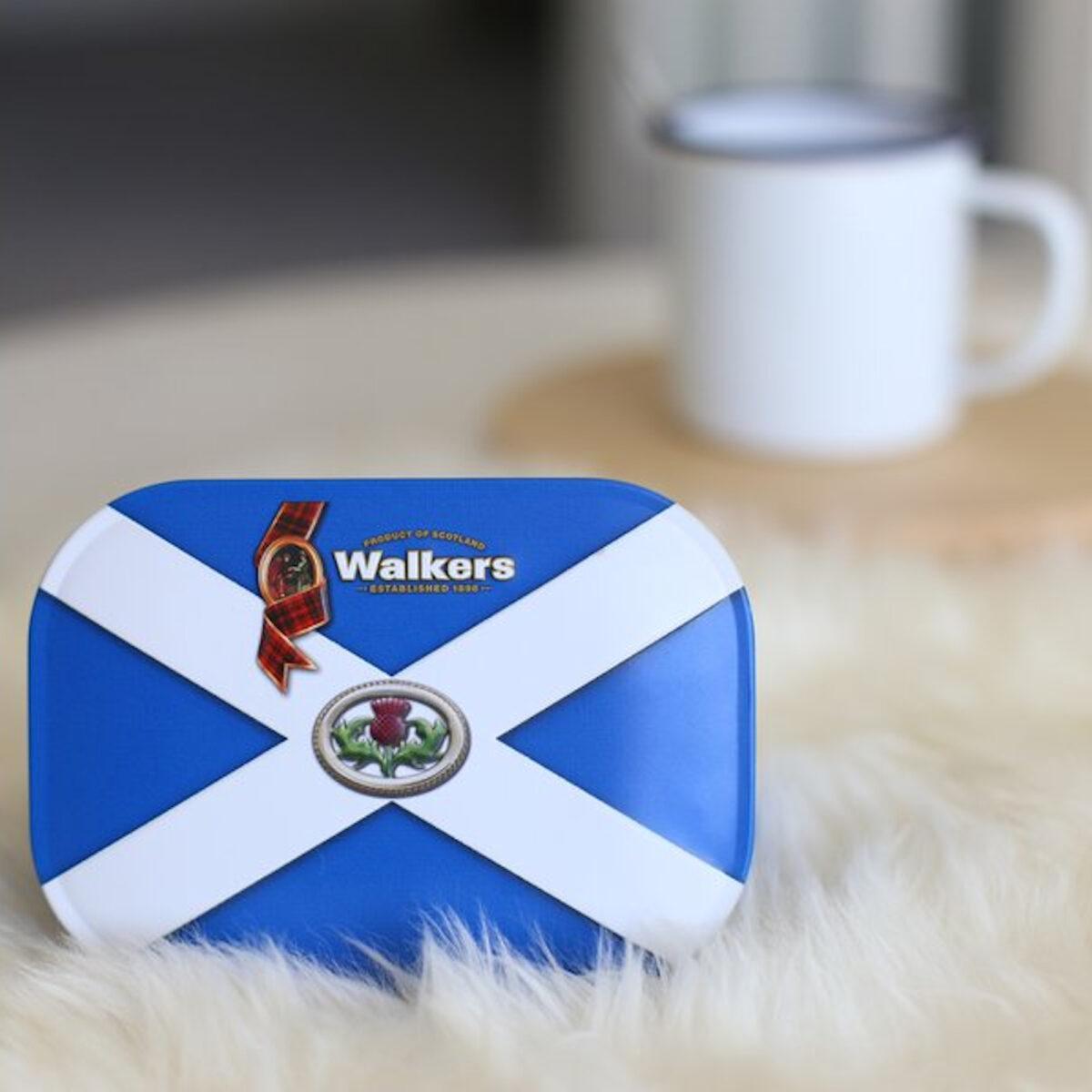 Walkers Shortbread Saltire Keepsake Tin