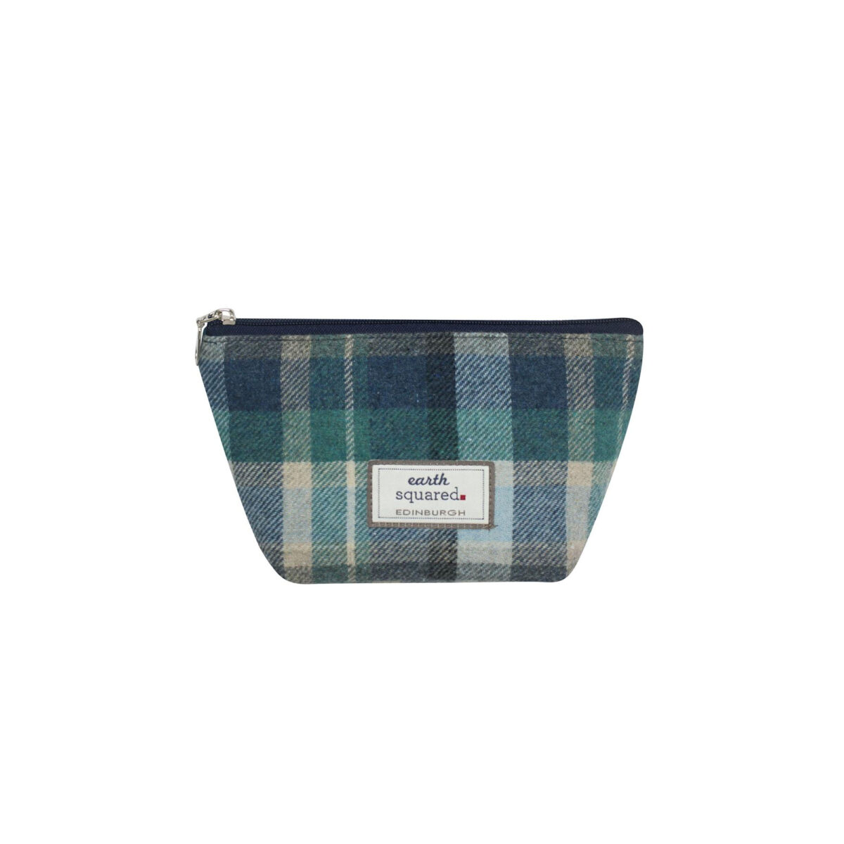 Cloudburst Tweed Makeup Bag