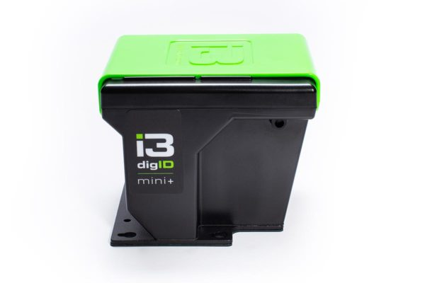 A photo of a digID mini+ with cover on