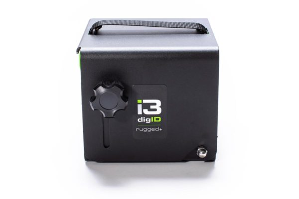 A photo of a digID rugged+ with casing