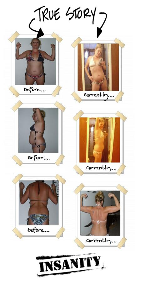 Melissa – Losing weight and toning up with Insanity and the Bombshell Dynasty