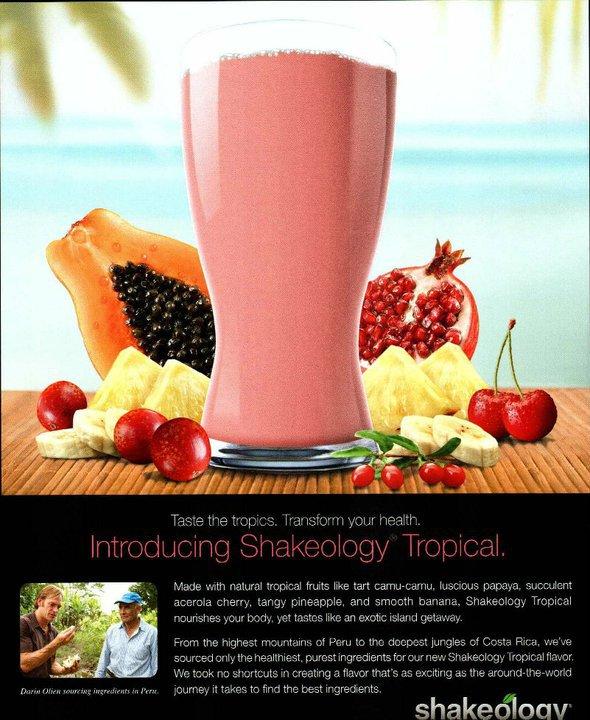 New Vegan Tropical Shakeology Release Date! February 14th!