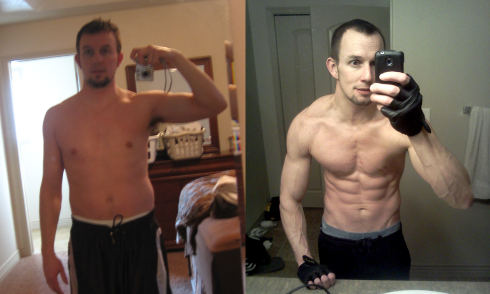 Scottie Hobbs – P90X and Insanity Asylum before after pictures