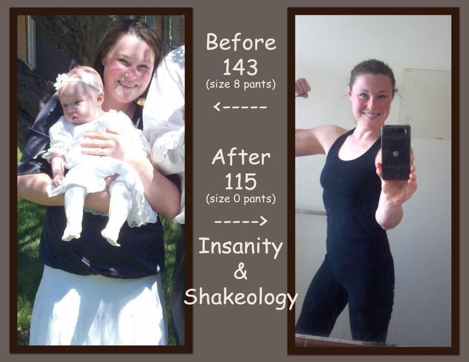 Insanity Results Women- Shelisa Bailey