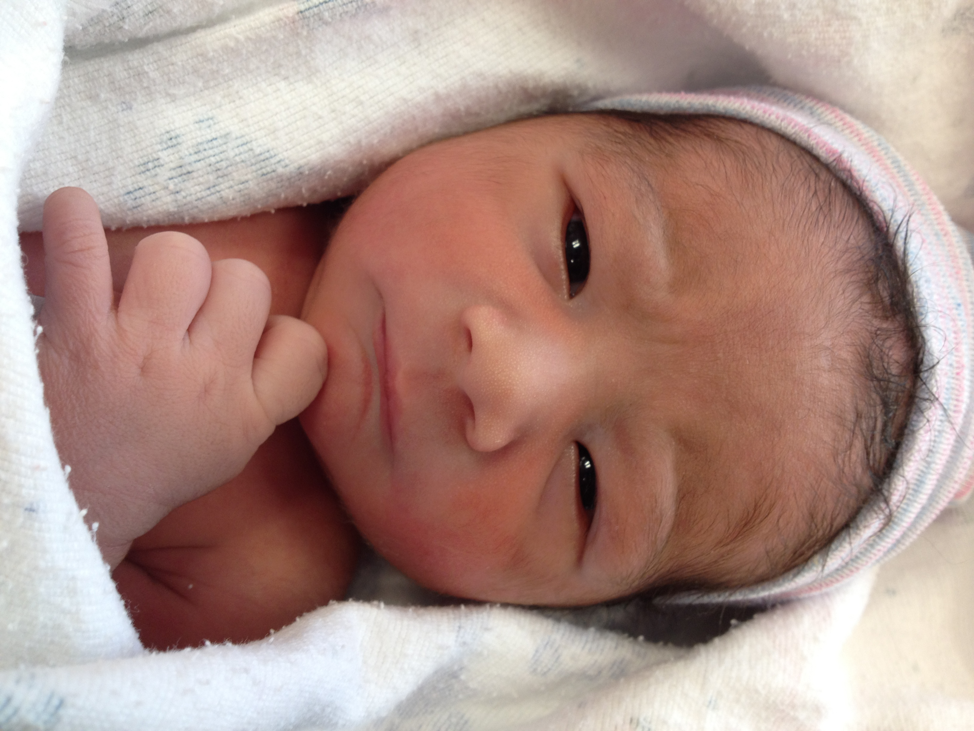 Our Newest Gift from God- Baby Caelum