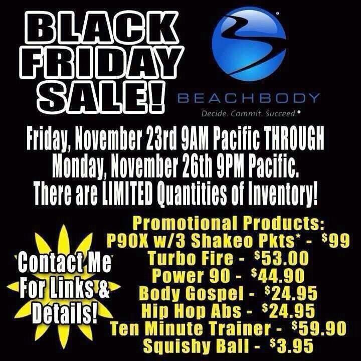 Beachbody Black Friday Deal
