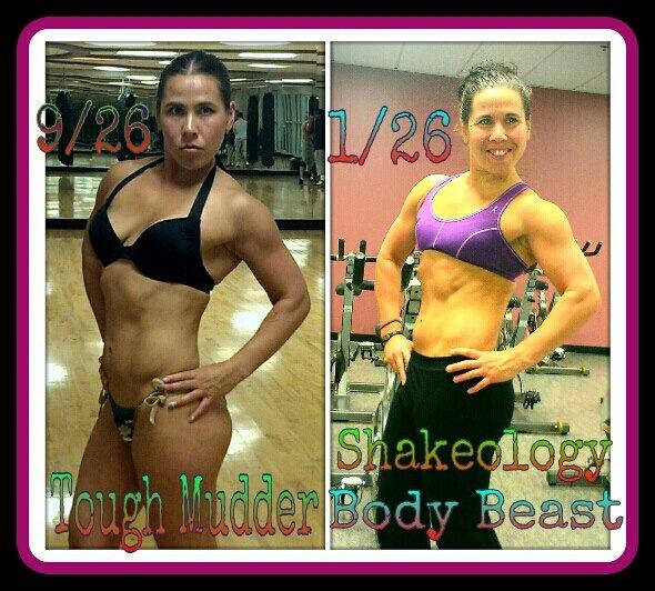 Female Body Beast Results