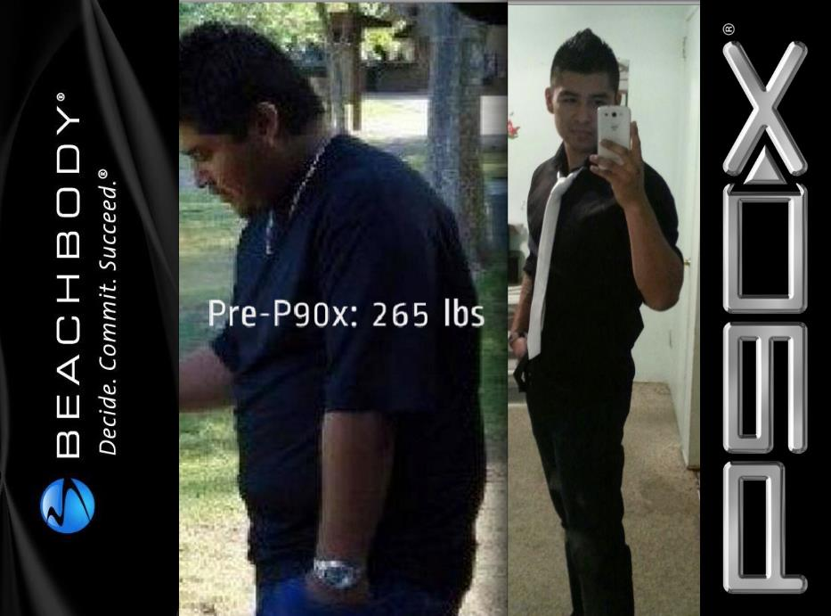 P90X Result Pictures
