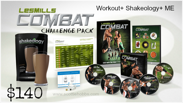 Les Mills Combat Challenge Pack Sale