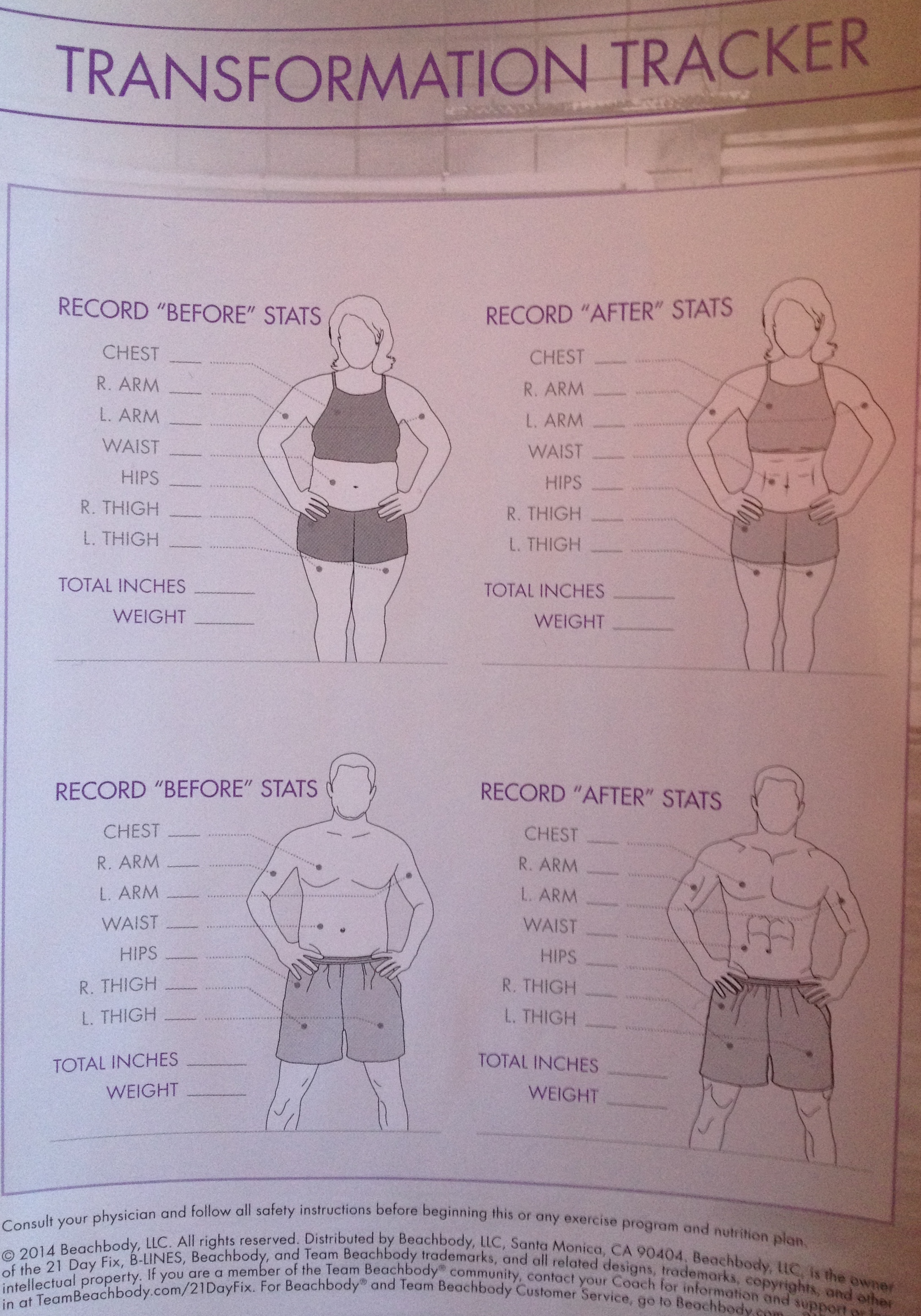 Measurements to Take for my Weight Loss Transformation