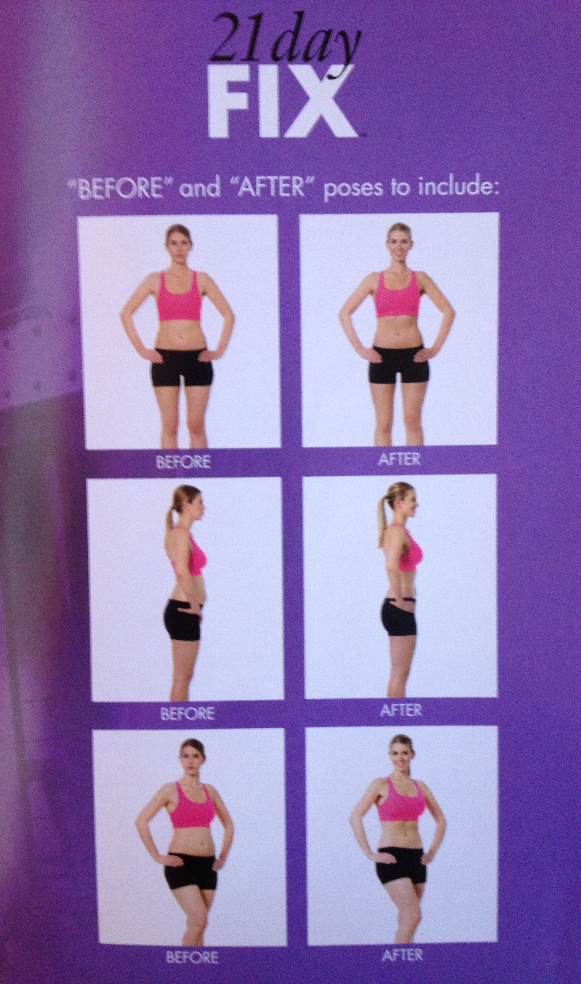 How to Take Before Fitness Pictures