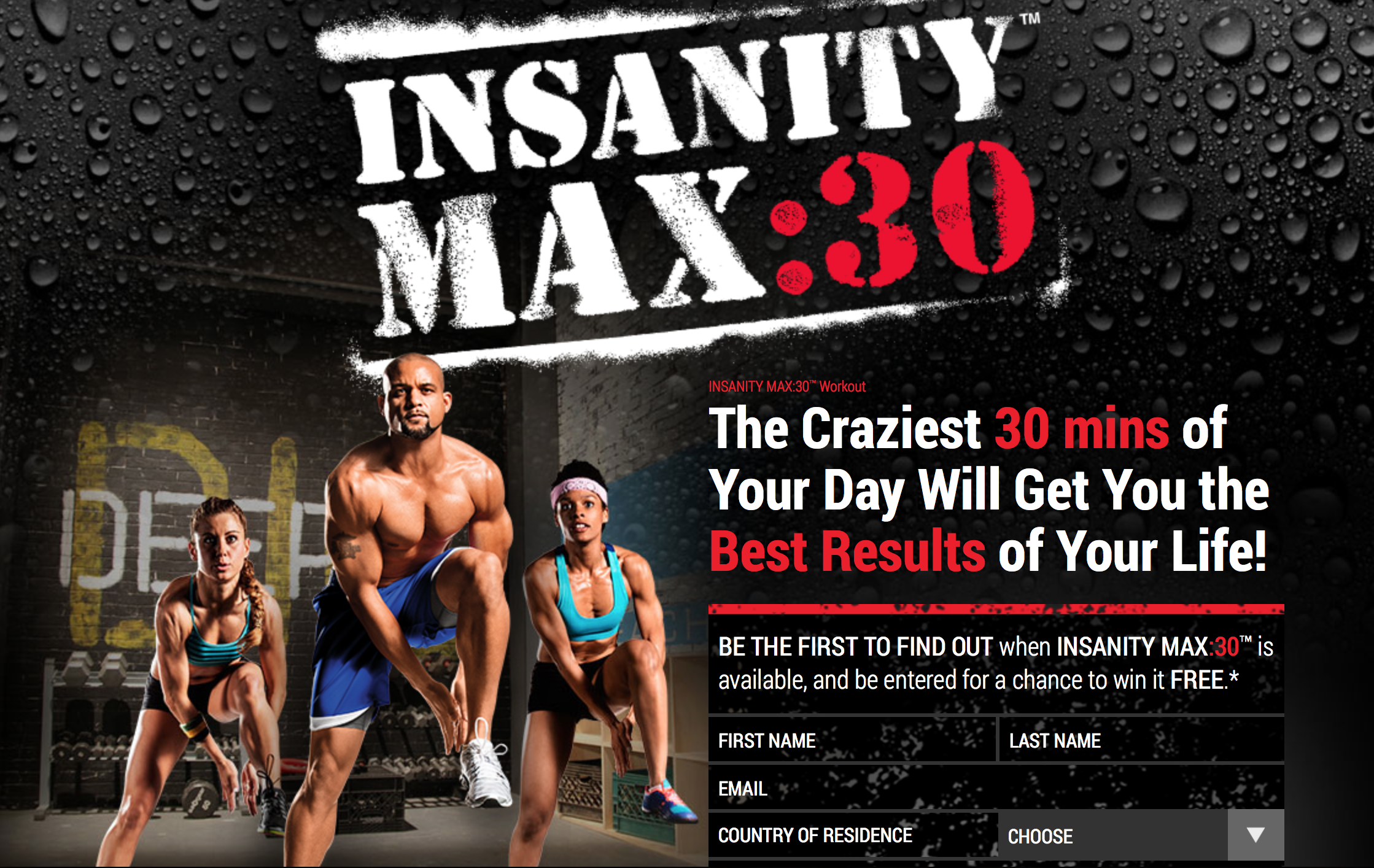 The Difference Between Insanity and Insanity Max 30
