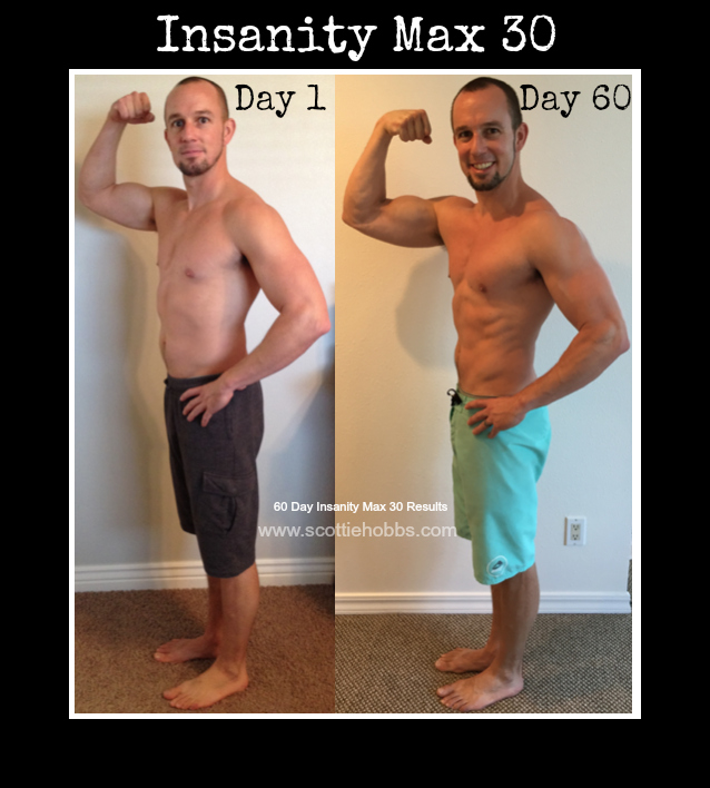 Insanity Max 30 Results