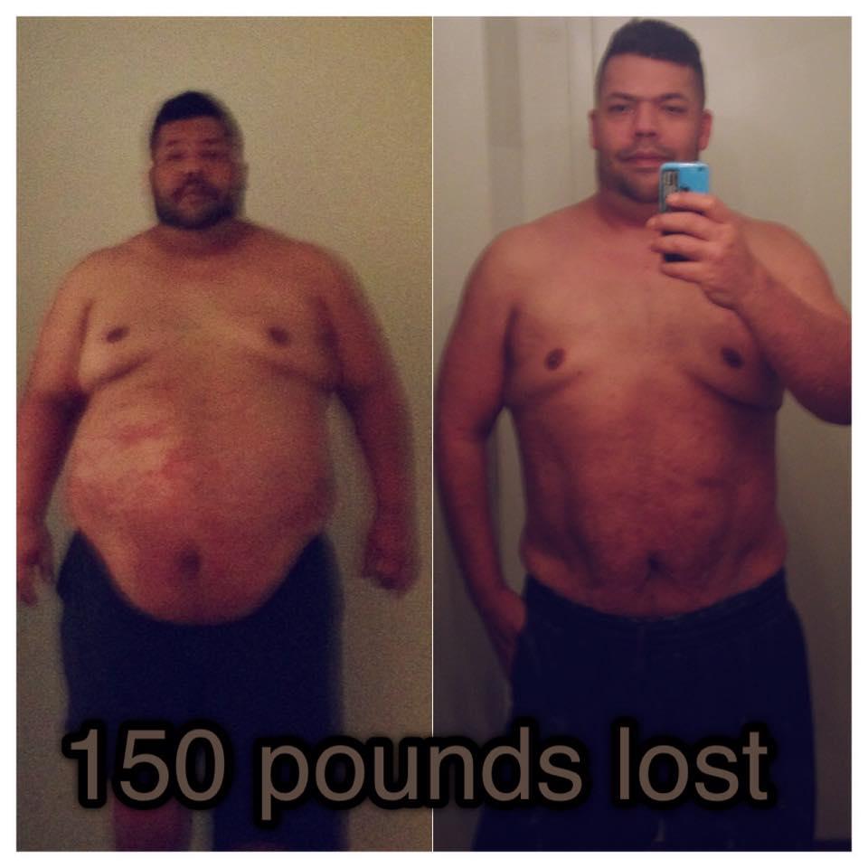 Lose 150 lbs