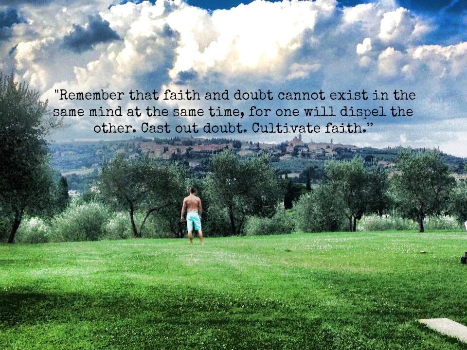 Cultivate Faith