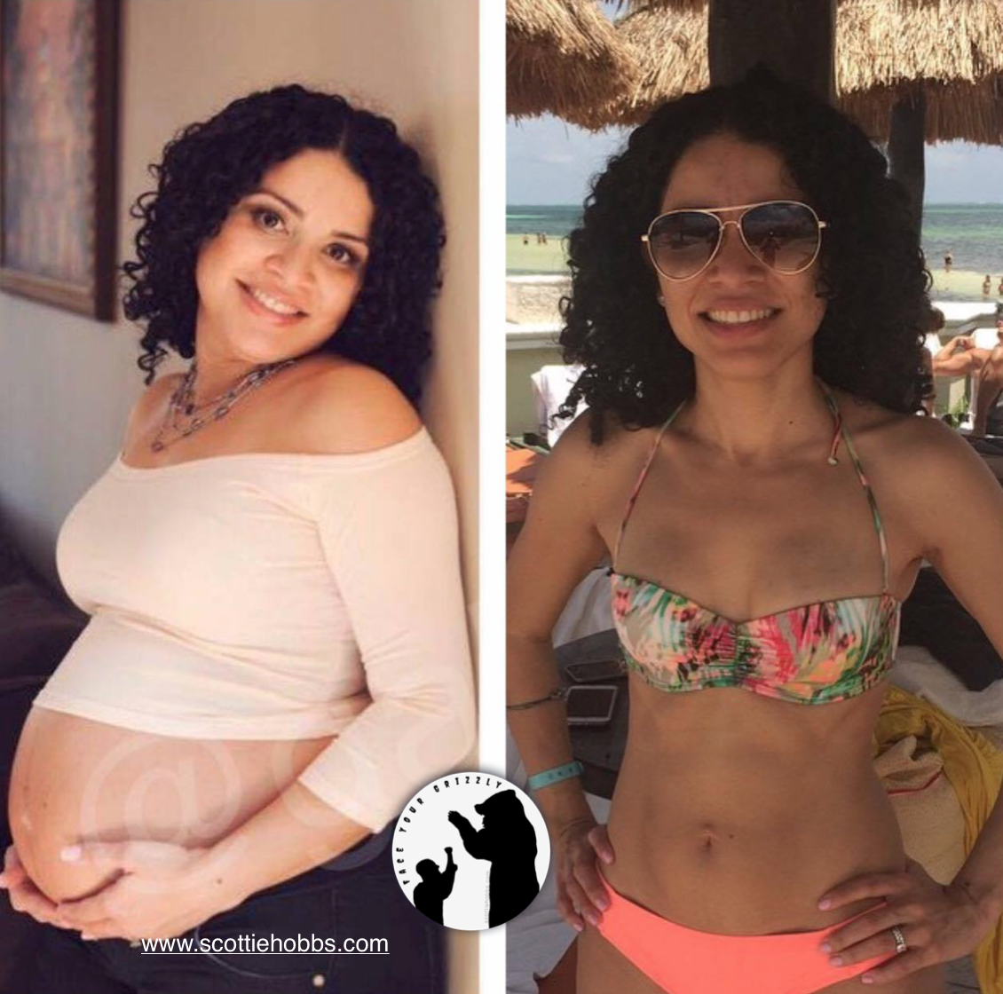 Lose the post-partum weight